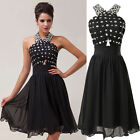 Big Sale Vintage Ladies Short Ball Formal Cocktail Prom Party Gown Evening Dress
