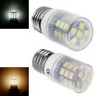 27 5050 SMD E27 LED Light Bulb Store Lamp Cold/Warm White 230V w/ Stripes Cover