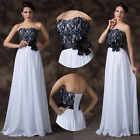 Sexy Lace Chiffon Formal Party Ballgown Bridesmaid/Wedding Long Dress Prom Dress