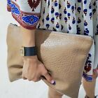 Jolse_imvely Pebbled Leather Clutch Bag