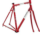 Genesis Equilibrium Road 725 Reynolds Frame / Carbon Fork Mudguard Eyes - Red
