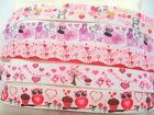 22mm Printed Craft Sewing Valentine Romance Love Heart Grosgrain Ribbons 7/8""