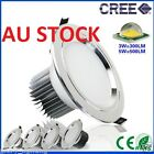 CREE LED CEILING DOWNLIGHT DOWN LIGHT FIXTURE FITTING COMPLETE KIT WARM COOL NEW