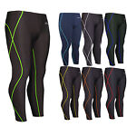 Mens Womens Compression Base Layer tights pants Under Skin leggings Body XS~2XL