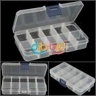 2/4 PCS On Sale Empty Storage Boxes 10 Cells Nail Tips Gems New Design