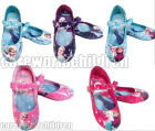 New Frozen Elsa Anna Princess Cosplay Girls Kids Shoes Size 7 8 9 10 11 12 13