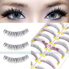 New 10 Pairs Handmade False Fake Eyelashes Eye Lashes Beauty Long Natural Makeup