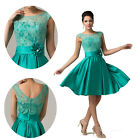 ❤ TOP DESIGN ❤ Vintage Evening Formal Cocktail Ball Gown Party Prom Short Dress