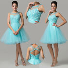 Short Sweetheart Formal Prom Ball Evening Party Homecoming Gown Dress Graduation