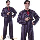 Men's Official Gomez Addams Adams Family Halloween Fancy Dress Costume Outfit