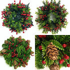 Artificial Christmas Mini Wreath/Candle Ring