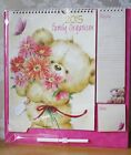 Teddy Wall Planner/Calendar,REDUCED,inc pen, memo pad & Shopping List