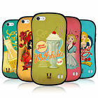 HEAD CASE DESIGNS VINTAGE ADS SERIES 1 HYBRID TPU BACK CASE FOR APPLE iPHONE 5C