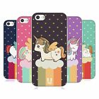HEAD CASE UNICORNS CHUBBY COLLECTION TPU GEL BACK CASE COVER FOR APPLE iPHONE 5C