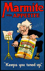 Vintage Marmite print poster, large 4 sizes available