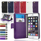 FLIP WALLET LEATHER CASE COVER For APPLE IPHONE 6 4.7 INCH / iPHONE 6 PLUS 5.5