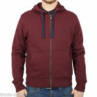 ORIGINAL PENGUIN MENS SECRET SAM TAWNY PORT HOODIE M L XL XXL RED FULL ZIP