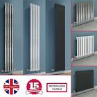CHROME WHITE ANTHRACITE SINGLE OVAL TUBE HORIZONTAL VERTICAL DESIGNER RADIATOR