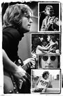 New John Lennon Bob Gruen Photo Collage Poster