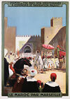 Vintage French Morocco Travel print poster-4 large sizes available