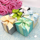 "2""x2""x2"" Wedding Party Favor Bonbonniere Candy Gift Box Shower Table Decoration"