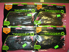NEW TRIGGER-X SPADETAIL WORM YOUR CHOICE-RAPALA-SOFT BAIT-BASS FISHING