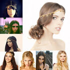 Bohemian Women Jewelry Forehead Dance Headband Piece Hair band Metal Head Chains
