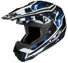 HJC Blue/Black/White CL-X6 Hydron Dirt Bike Helmet MX ATV MC-2
