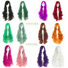 New Wavy Cosplay Wig Lolita Women Long Full Hair Wigs Party Costume 12 Colors