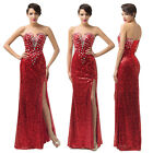 Charming Women Homecoming Evening Gown Party Cocktail Bridal Pageant Long Dress