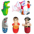 INTEX Childrens 3D Inflatable Boxing Punch Bop Bags Kids Outdoor Indoor Game Toy
