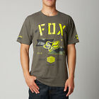 Fox Racing Mens Heather Dark Fatigue Gorged Short Sleeve T-Shirt Tee