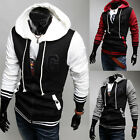 Hot Fashion Men's Slim Fit Sexy Top Designed Hoodies Hooded Jackets Coats
