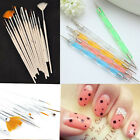 20pcs Nail Art Care Design Set Dotting Painting Drawing Polish Brush Pen,2015