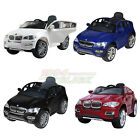 New Electric Battery Kids Ride on Car BMW X6 Parental Control MP3 Input