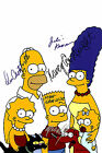 SIMPSONS 01 SIGNED BY VOICES PHOTO PRINT 01A