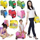 TODDLER RIDE ON CAR KIDS INFANT PULL ALONG GIRLS BOYS TOY STORAGE BOX XMAS GIFT