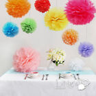 1pc Wedding Tissue Paper Pom Poms Party Xmas Home Outdoor Flower Ball Decoration