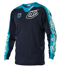 NEW 2014 TROY LEE DESIGNS SE PRO CORSE MX DIRT BIKE JERSEY NAVY/ WHITE ALL SIZES