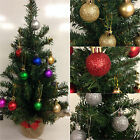Mini Artificial Christmas Tree With 12 x Mini Baubles *Suitable For Cemeterys*