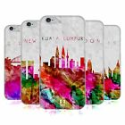 HEAD CASE WATERCOLOURED SKYLINE GEL BACK CASE COVER FOR APPLE iPHONE 6 4.7