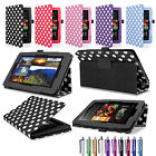 Leather Smart Case Cover Stand for Amazon NEW Kindle Fire HD 6'' 7'' 2014 4th