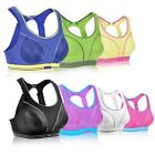 Women's Comfort Racer Back Level 4 Maximum Powerful Run Sports Bra