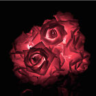 20 LED Rose Flower Fairy String Lights Party Xmas Decoration Battery Operated