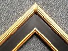 "3"" Wide Gold Black Classic Picture Frame Wedding Painting Gallery PLEIN AIR M1B"