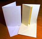 A6 Card Blanks With Envelopes Wedding Invitations Card Making Craft Pick Colour