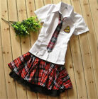 Japanese Costume Japan School Girl Uniform Cosplay Costume Cotton Blend cute