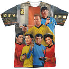Star Trek Classic Bridge Allover Sublimation Licensed Adult T Shirt on eBay