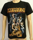 Scorpions New Metal Rock Black Printed T-Shirt