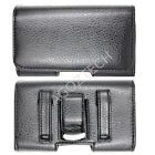 PREMIUM Quality Leather Sideways Clip Case Pouch Holster for ZTE Cell Phones NEW